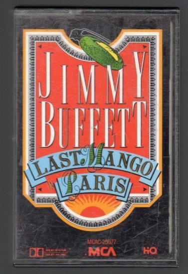 Jimmy Buffett - Last Mango In Paris Cassette Tape