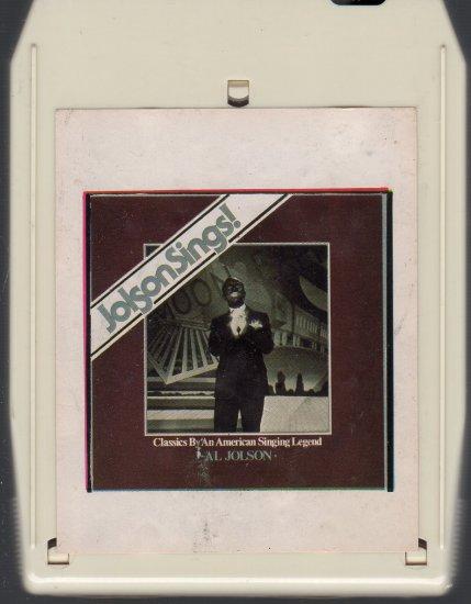 Al Jolson - Al Jolson Sings 1982 ( Silver Eagle ) 8-track tape
