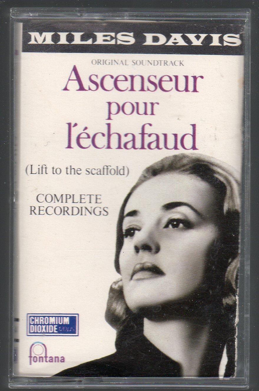 Miles Davis - Ascenseur Pour Lechafaud Cassette Tape