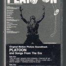 Platoon - Original Motion Picture Soundtrack Cassette Tape