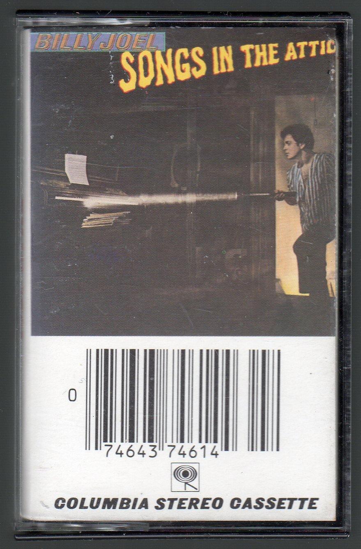 Billy Joel - Songs In The Attic Cassette Tape