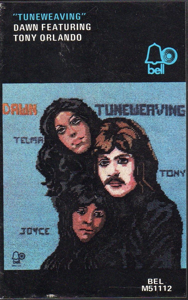Tony Orlando & Dawn - Tuneweaving 1973 Hard Shell Cassette Tape
