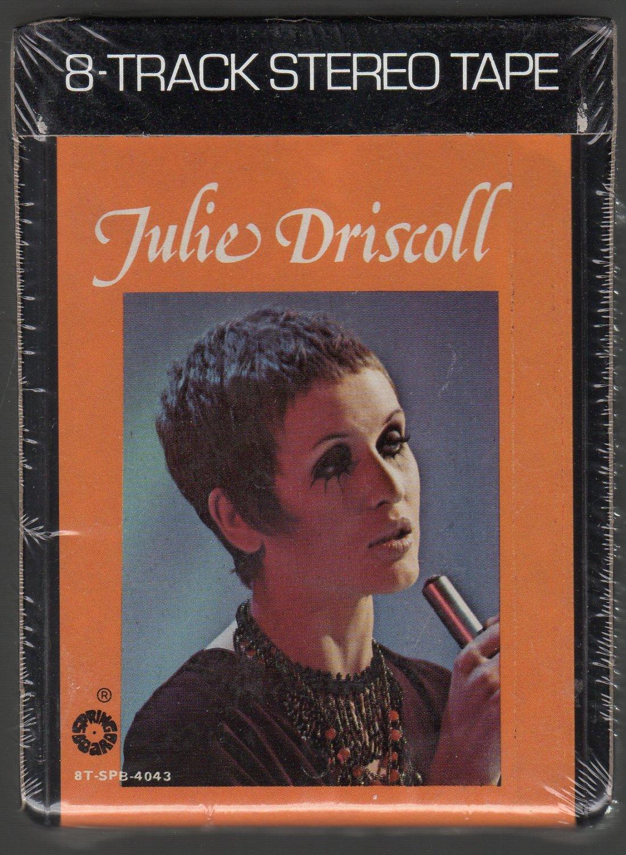 Julie Driscoll - Julie Driscoll Sealed ( Springboard ) 8-track tape