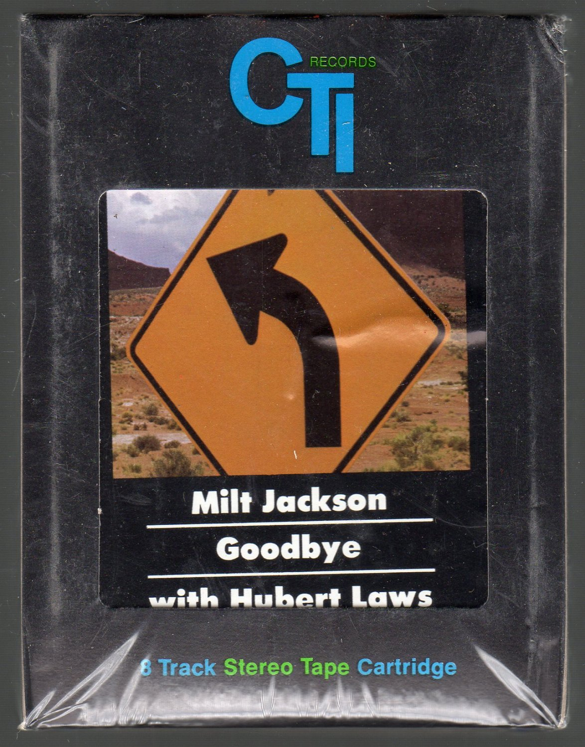 Milt Jackson - Goodbye with Hubert Laws Sealed 8-track tape