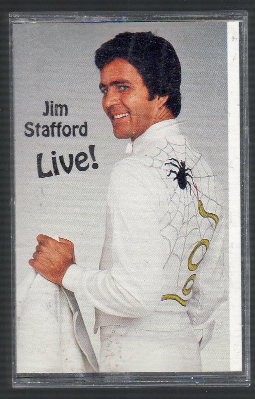 Jim Stafford - Jim Stafford Live Cassette Tape