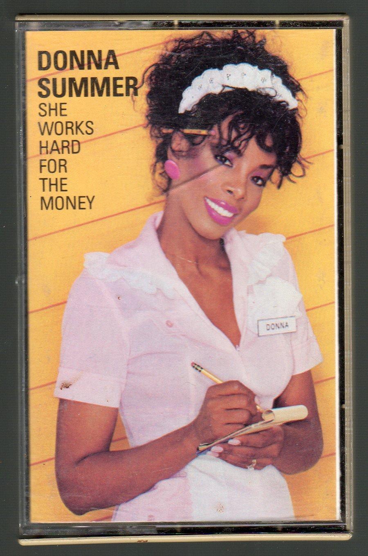 Donna Summer - She Works Hard For The Money Cassette Tape