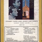 Johnny Cash & Jerry Lee Lewis - Sunday Down South ( Sun ) 8-track tape