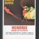 Jimi Hendrix - Band Of Gypsys Cassette Tape