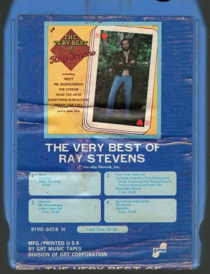 Ray Stevens - The Very Best Of Ray Stevens 8-track tape