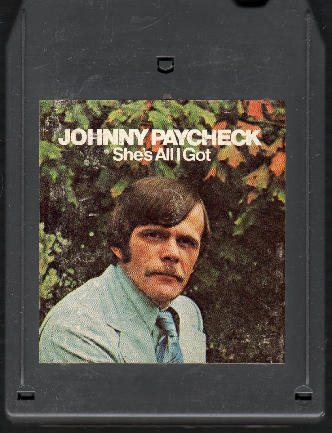 Johnny Paycheck - She's All I Got A45 8-track tape