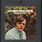 Johnny Paycheck - She's All I Got 8-track tape