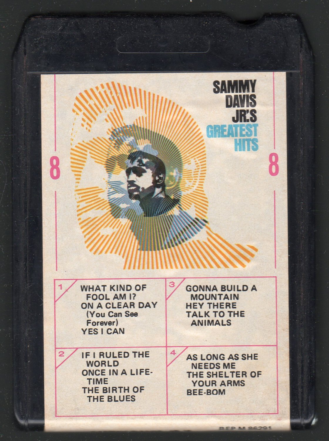Sammy Davis Jr. - Greatest Hits Reprise 8-track tape