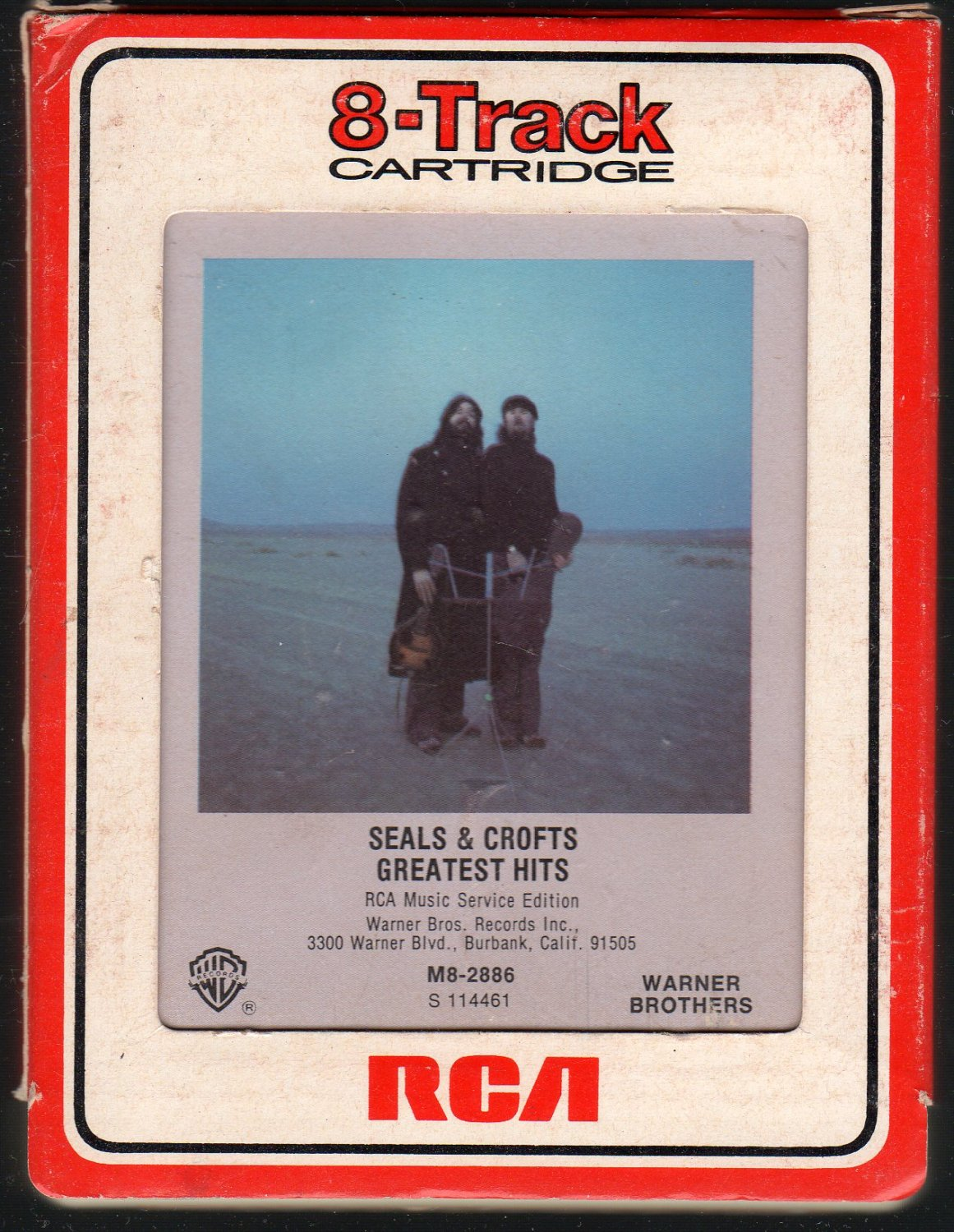 Seals & Crofts - Greatest Hits RCA 8-track tape
