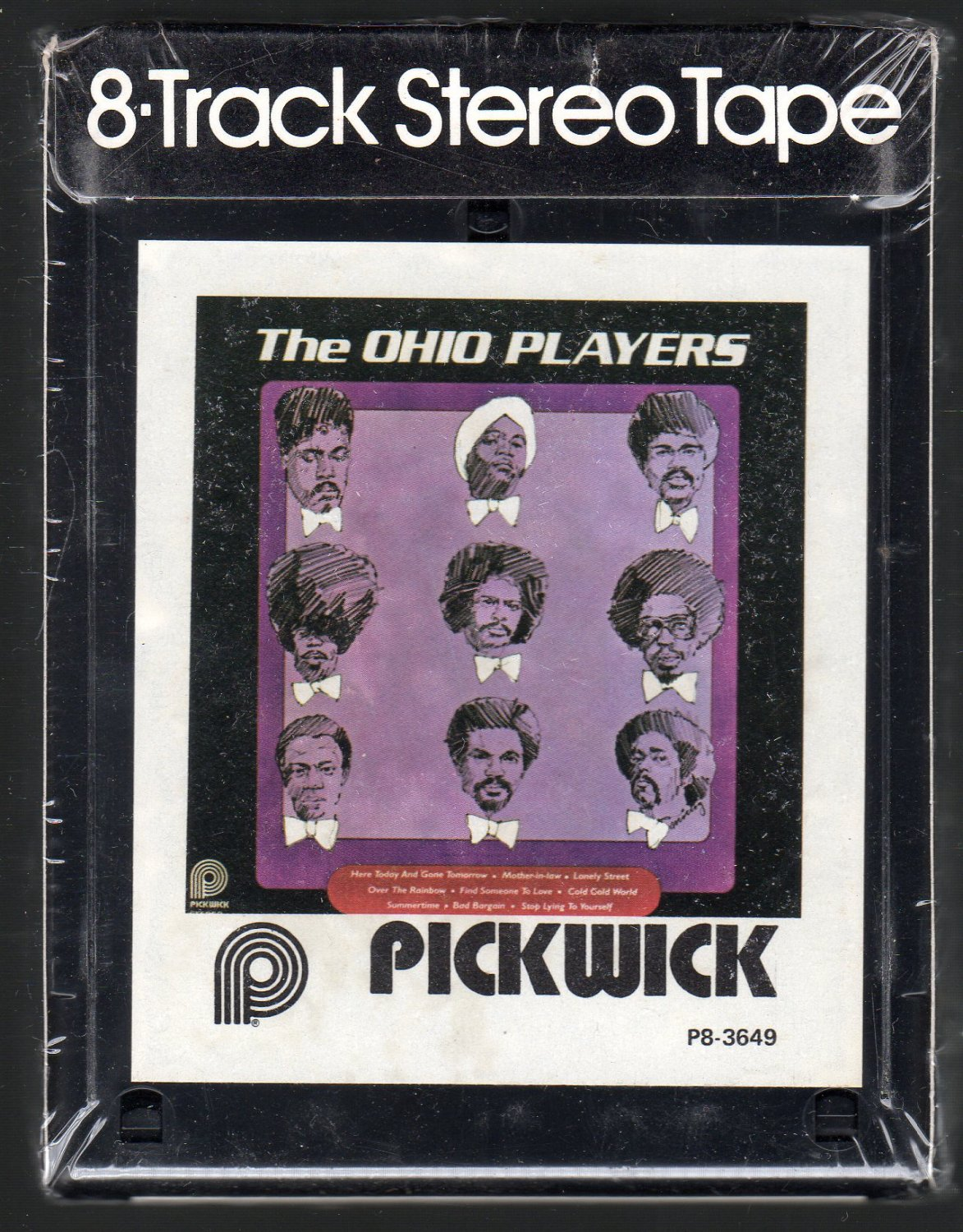 The Ohio Players - The Ohio Players PICKWICK Sealed 8-track tape