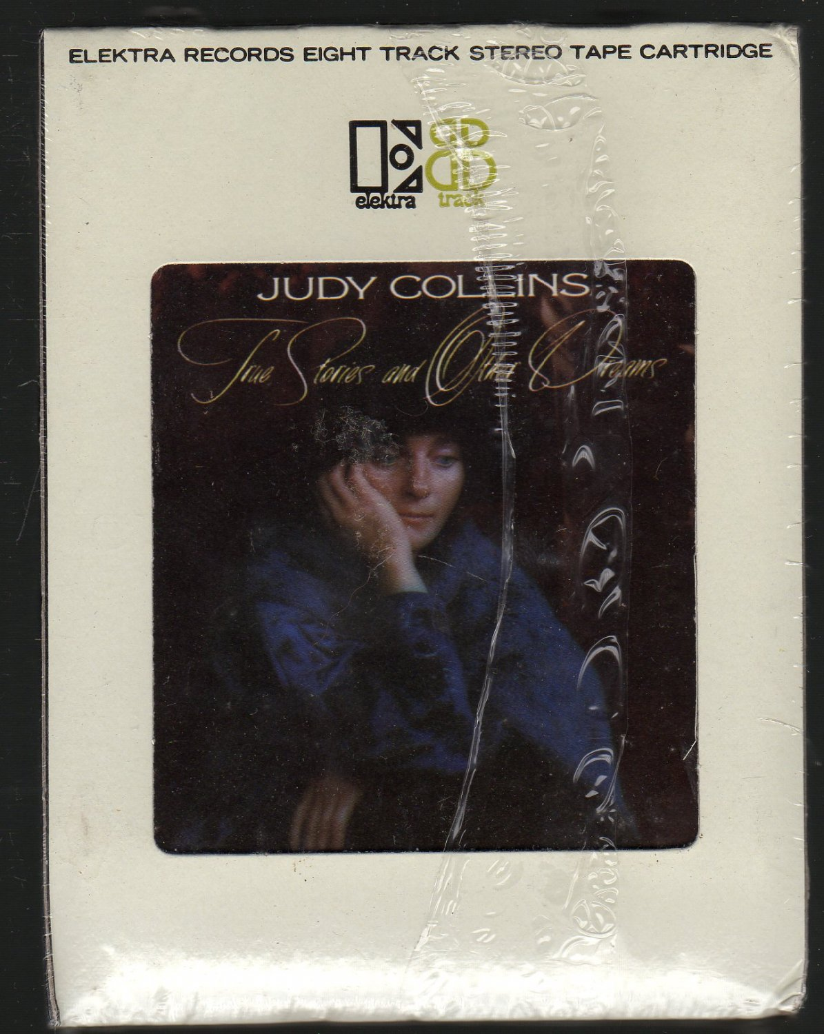 Judy Collins - True Stories And Other Dreams Sealed 8-track tape