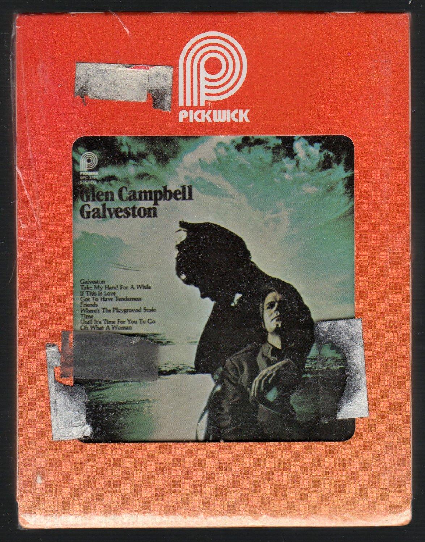 Glen Campbell - Galveston PICKWICK Sealed 8-track tape