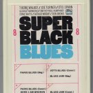 Super Black Blues - T-Bone Walker, Joe Turner, Otis Spann 1969 Ampex 8-track tape