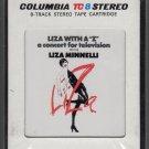 """Liza Minnelli - Liza With A """"Z"""" Original Television Soundtrack Recording Sealed 8-track tape"""