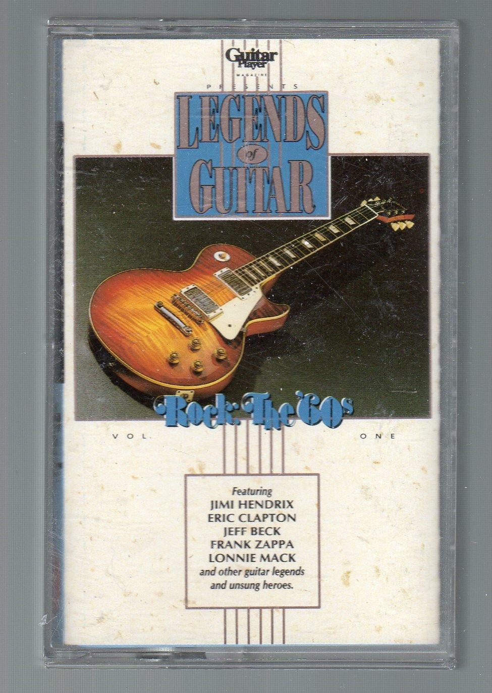 Legends Of Guitar - Rock The 60's Vol 1 RHINO Cassette Tape
