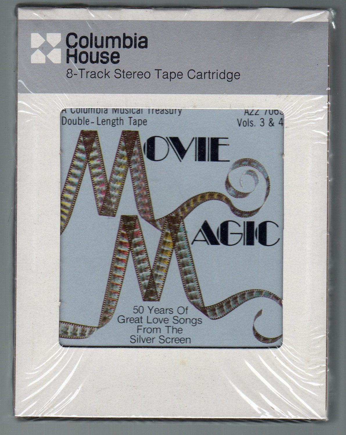 Movie Magic - 50 Years Of Great Love Songs From The Silver Screen Part 3 & 4 Sealed 8-track tape