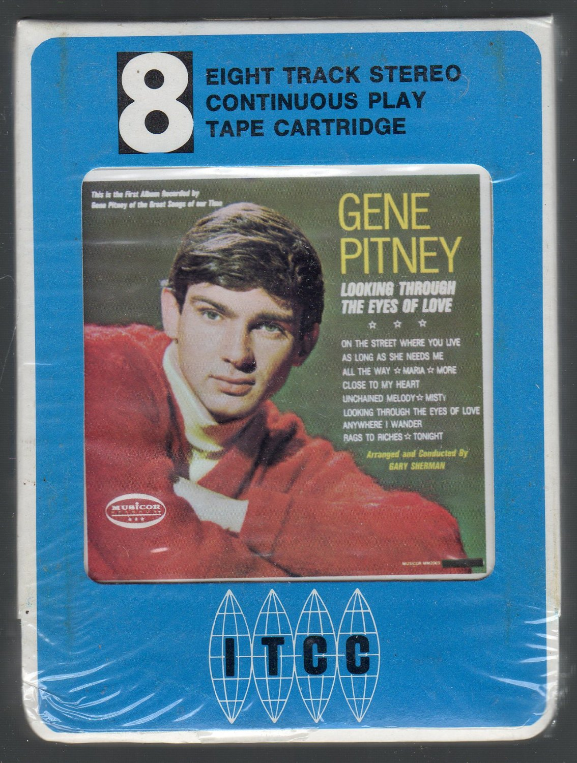 Gene Pitney - Looking Through The Eyes Of Love 1965 MUSICOR 8-track tape