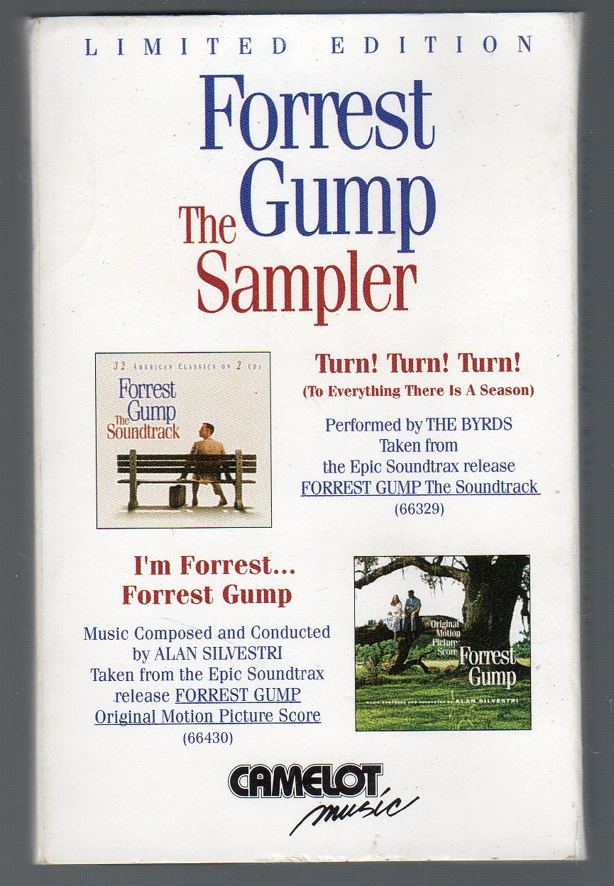 Forrest Gump - The Sampler RARE Cassette Tape