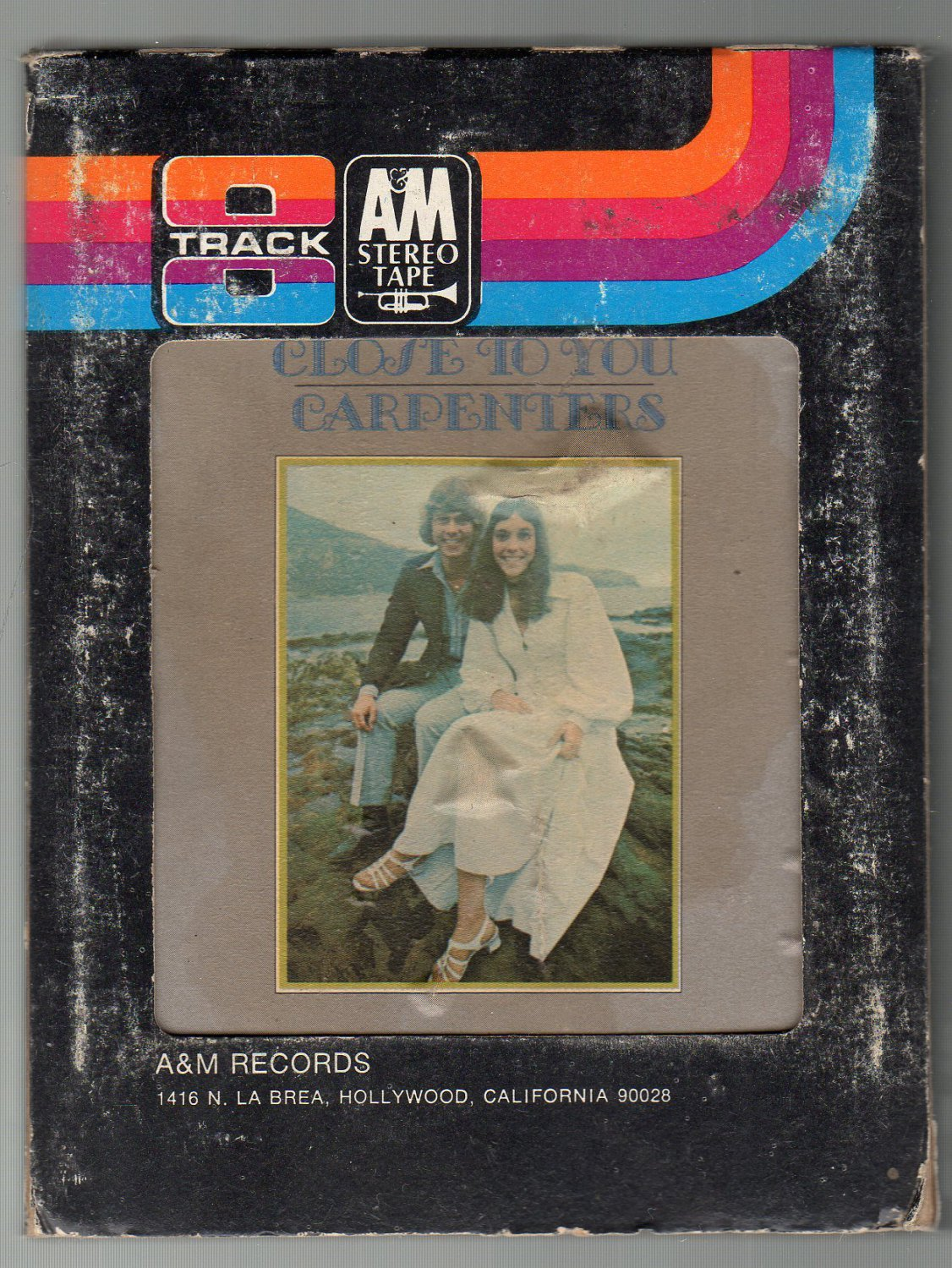 The Carpenters - Close To You 8-track tape