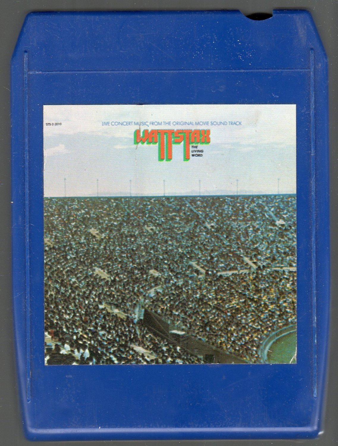 Wattstax - Original Movie Soundtrack Vol I Live Concert 8-track tape