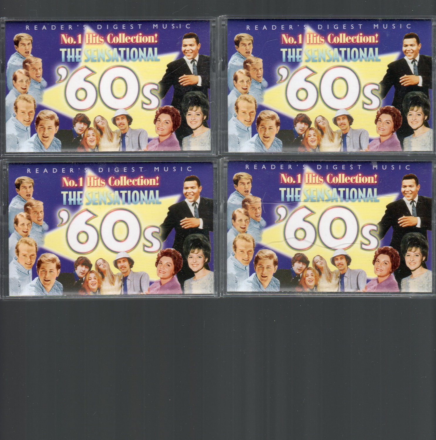 The Sensational 60's - Complete Series RARE Vol 1 - 4 Cassette Tape