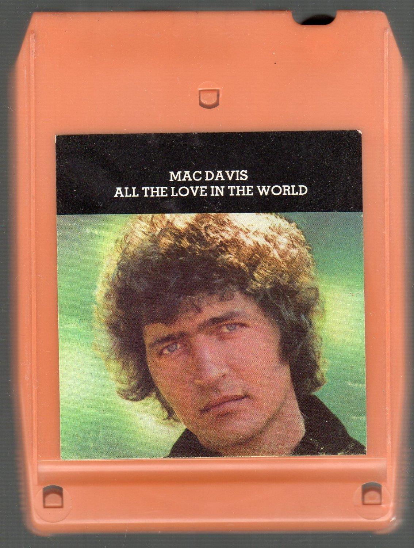 Mac Davis - All The Love In The World 8-track tape