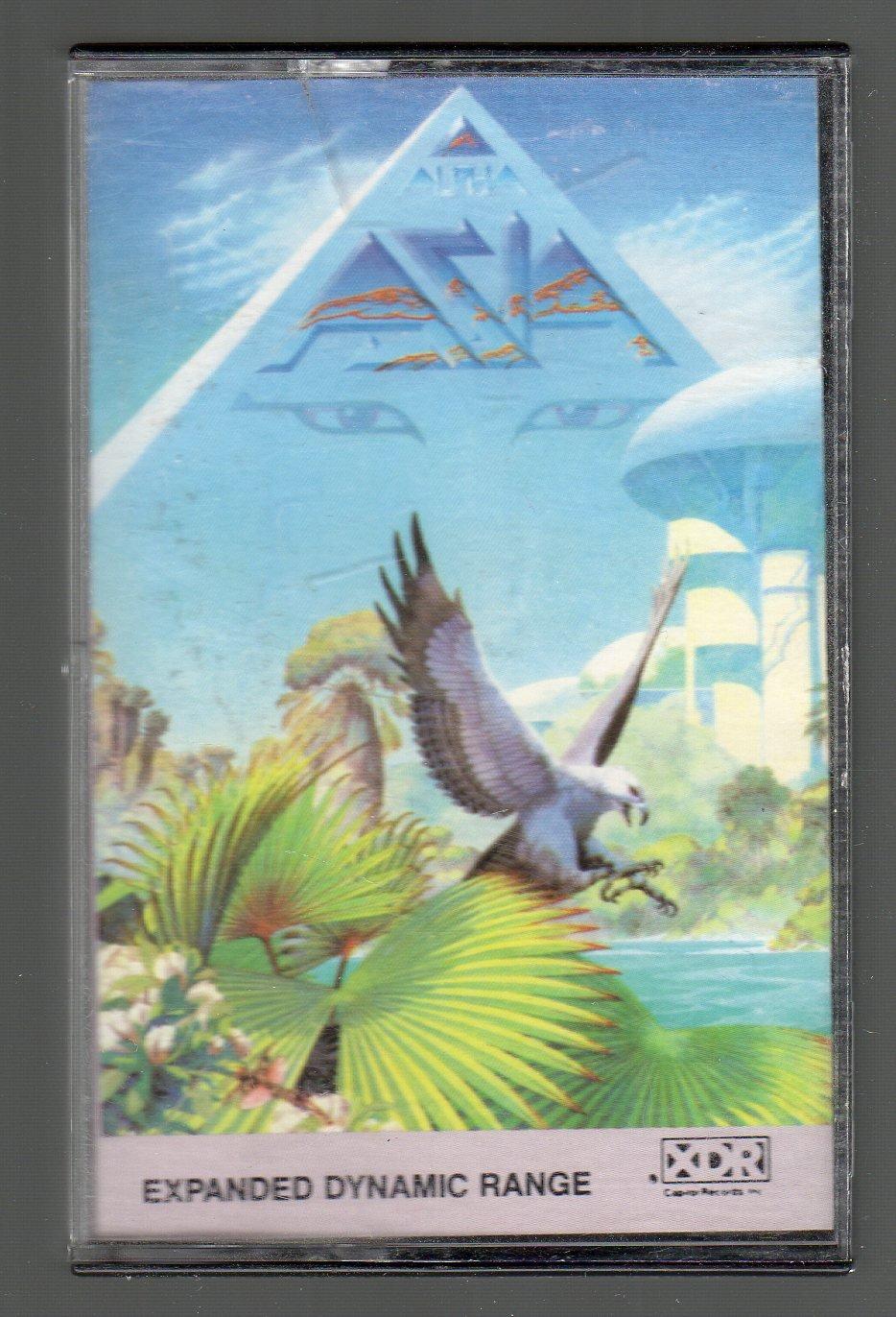 Asia - Alpha Cassette Tape