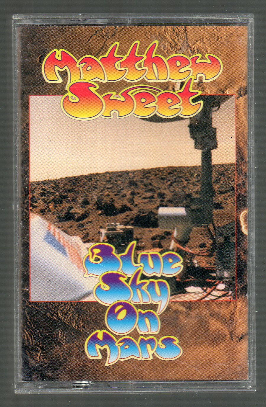 Matthew Sweet - Blue Sky On Mars Cassette Tape