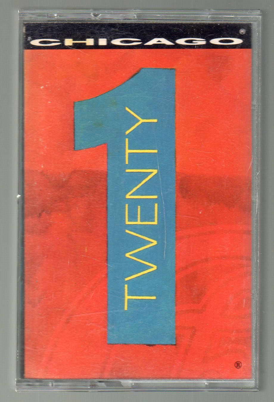 Chicago - Twenty 1 Cassette Tape