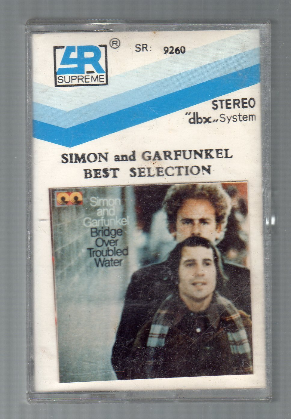 Simon & Garfunkel - Best Selection, Bridge Over Troubled Water RARE Cassette Tape