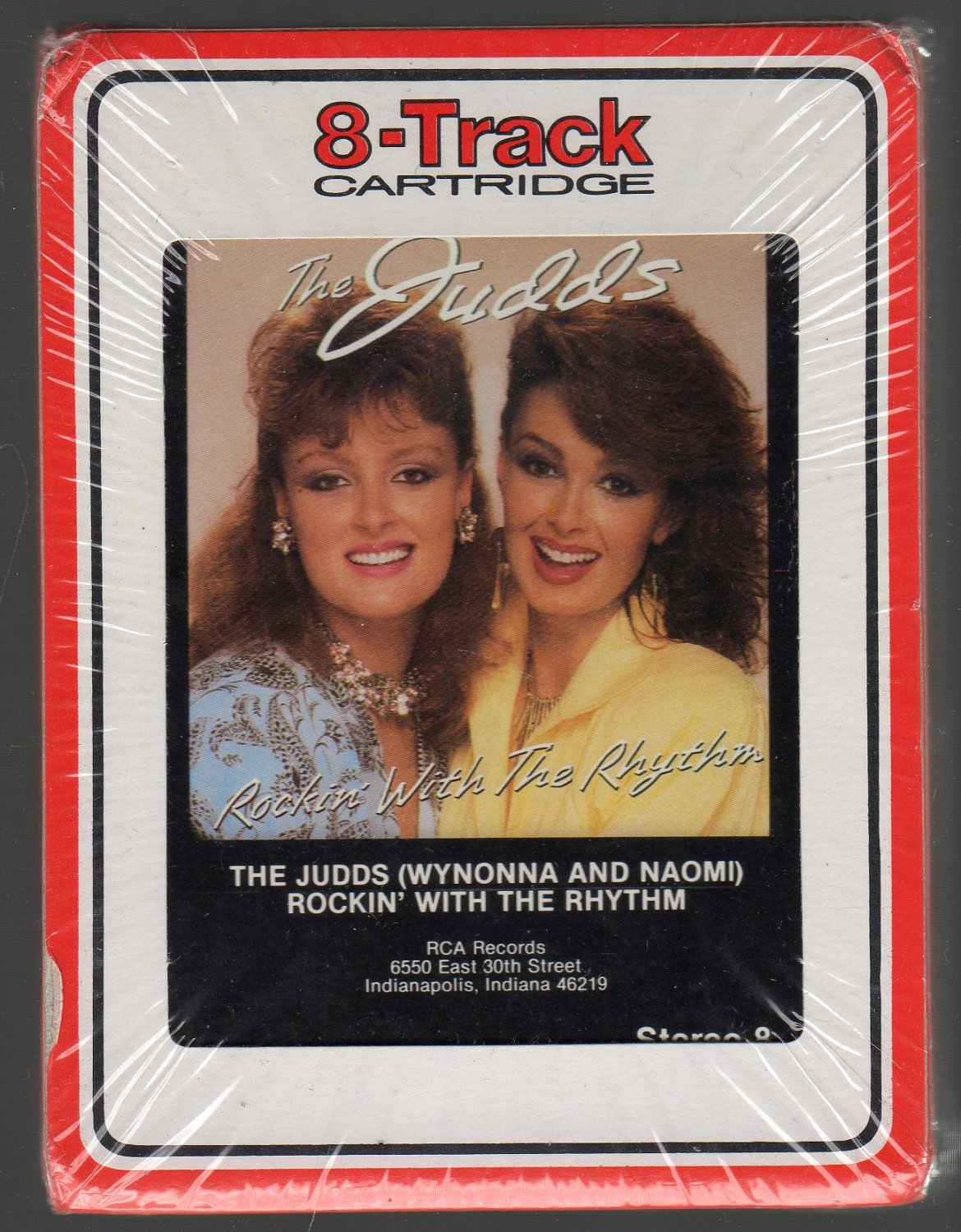 The Judds - Rockin' With The Rhythm 1985 RCA Sealed 8-track tape