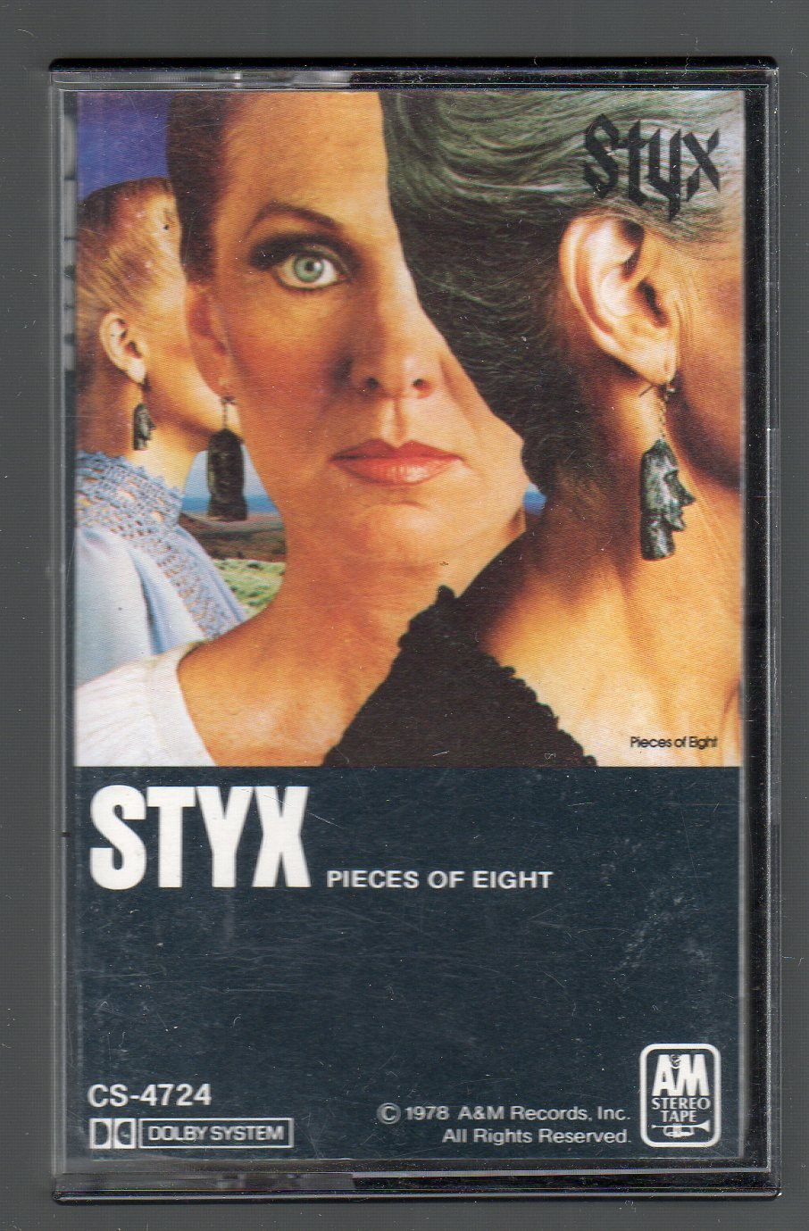 Styx - Pieces Of Eight SOLD Cassette Tape