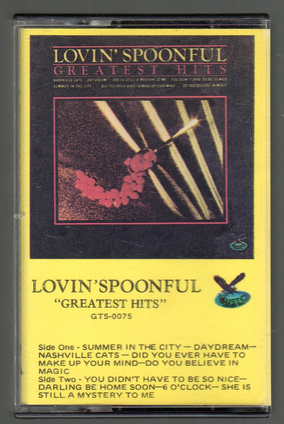 Lovin' Spoonful - Greatest Hits GUSTO Cassette Tape