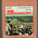 20 Monster Hits - Various Rock 8-track tape