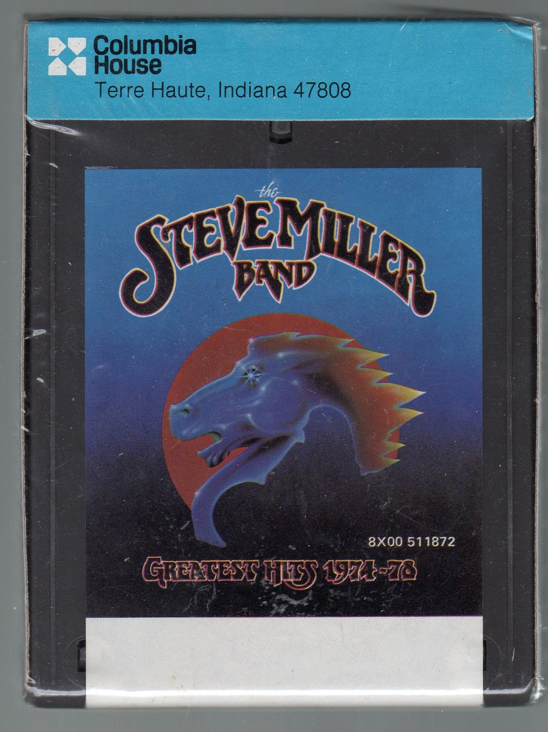 Steve Miller Band - Greatest Hits 1974-78 CRC Half Sleeve Sealed SOLD 8-track tape