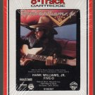 Hank Williams Jr. - Five-O 1985 RCA Sealed 8-track tape