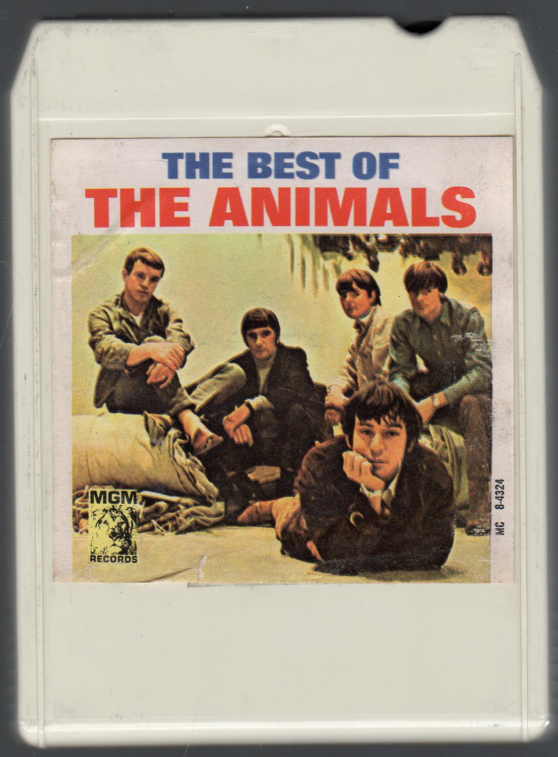 The Animals - The Best Of The Animals SOLD 1966 MGM Ampex Lear 8-track tape