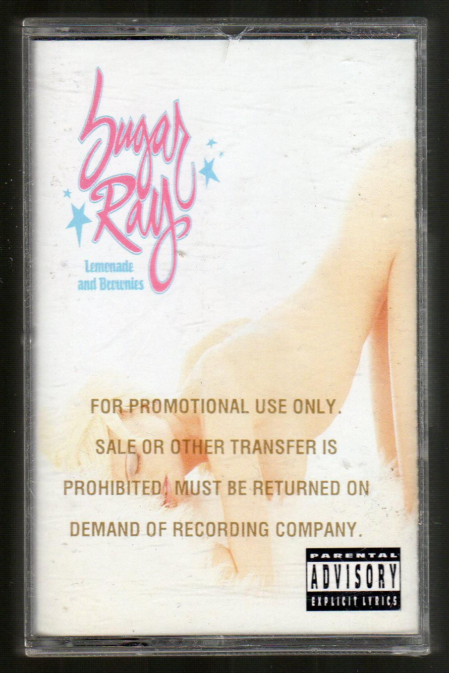 Sugar Ray - Lemonade And Brownies PROMO SOLD Cassette Tape