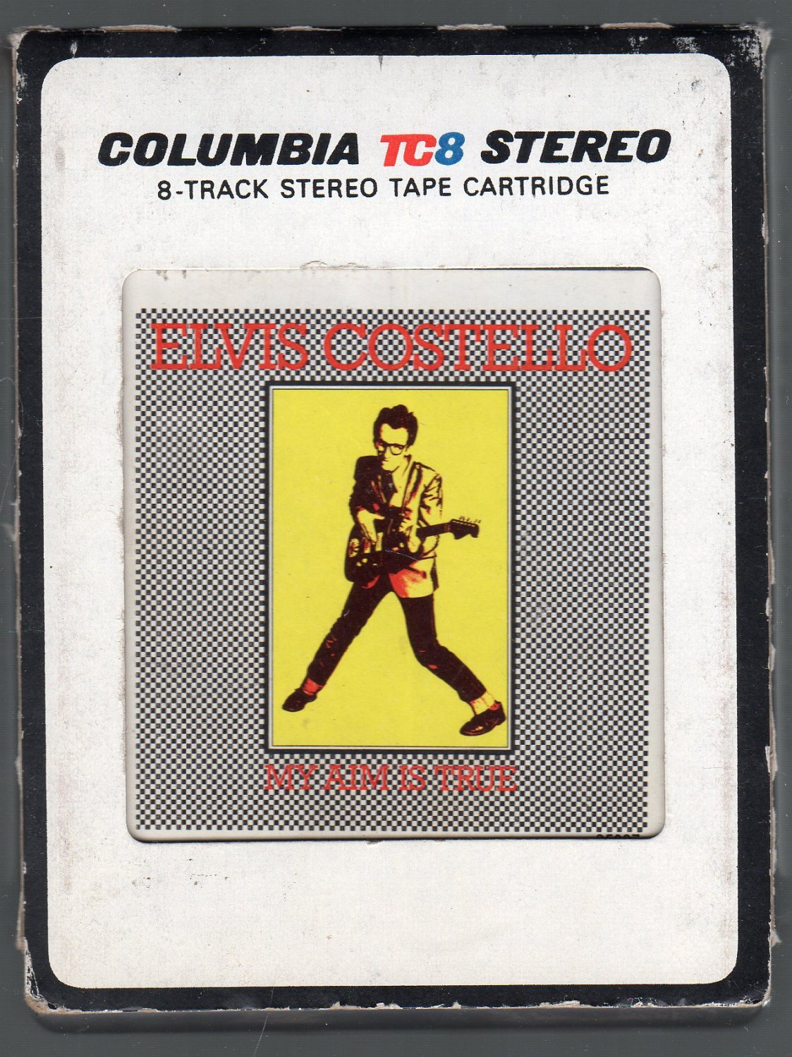 Elvis Costello - My Aim Is True Debut SOLD 8-track tape
