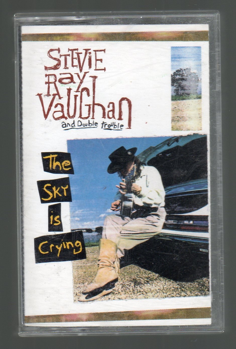 Stevie Ray Vaughan And Double Trouble - The Sky Is Crying SOLD Cassette Tape