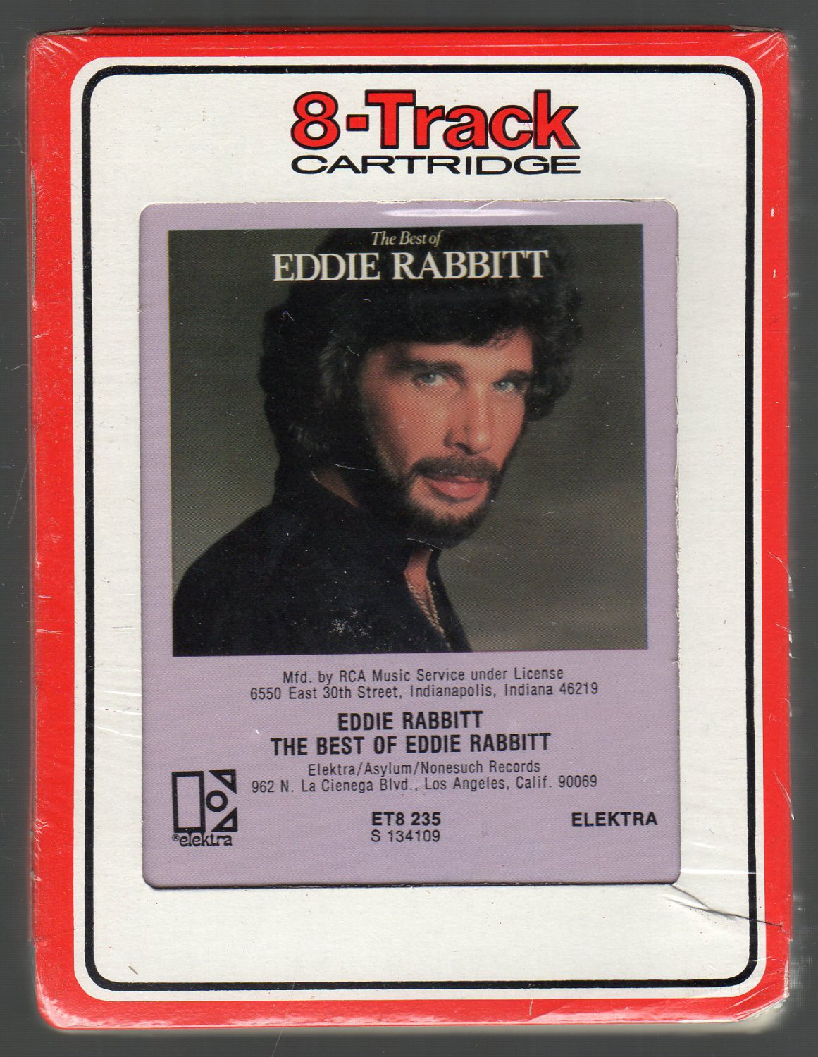 Eddie Rabbitt - The Best Of RCA Sealed 8-track tape
