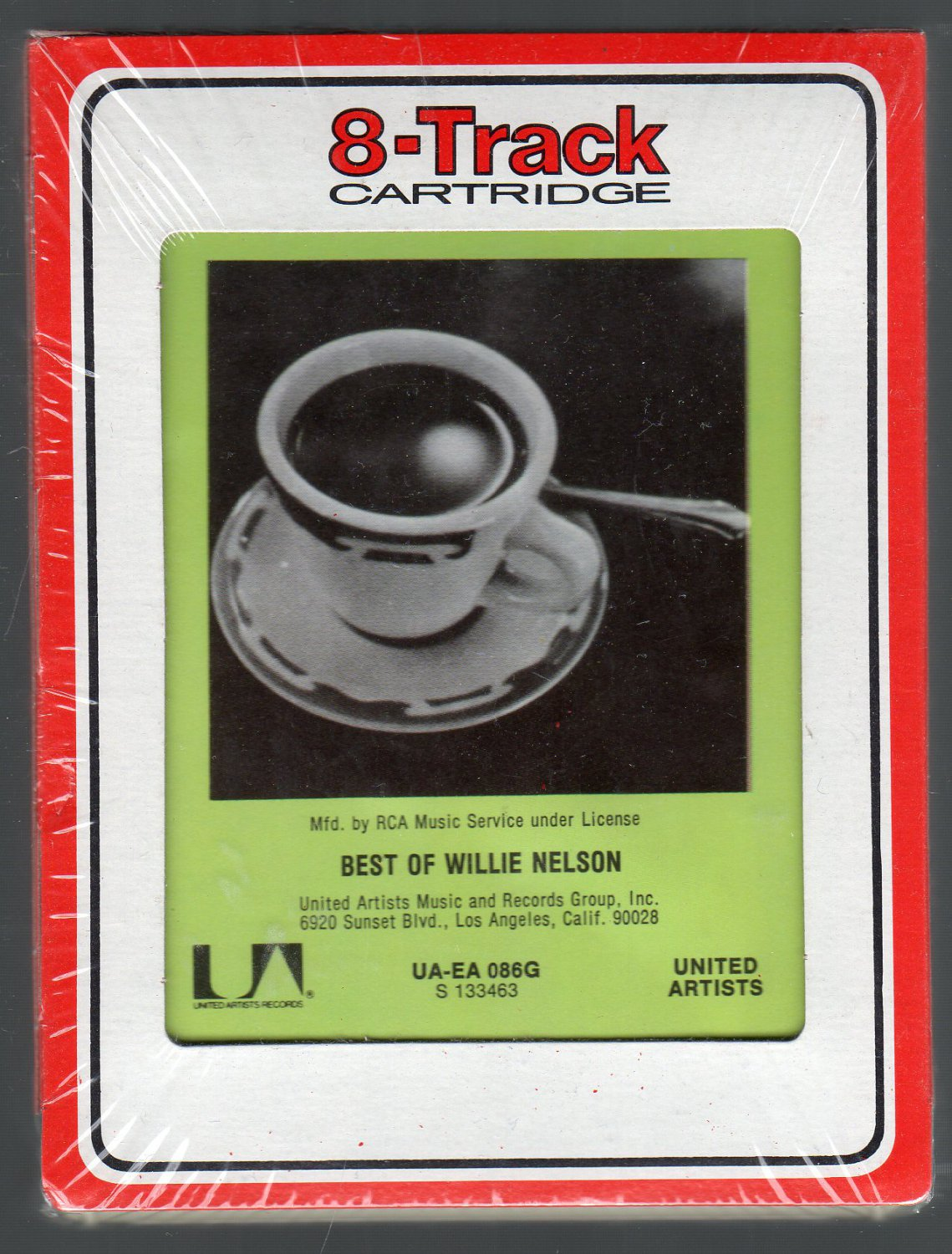 Willie Nelson - The Best Of Willie Nelson RCA Sealed SOLD 8-track tape