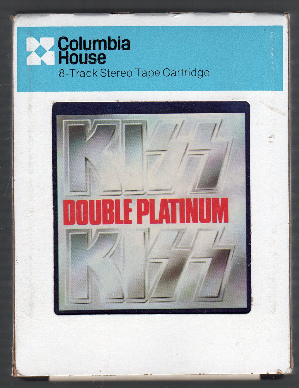 KISS - Double Platinum CRC Vol 2 8-track tape