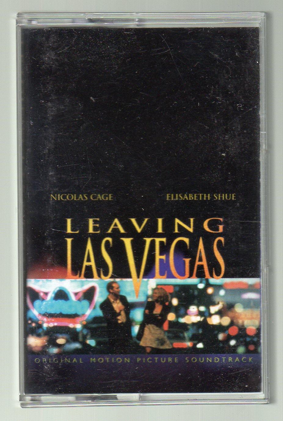 Leaving Las Vegas - Motion Picture Soundtrack Cassette Tape