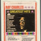Ray Charles - Greatest Hits GRT ABC 8-track tape