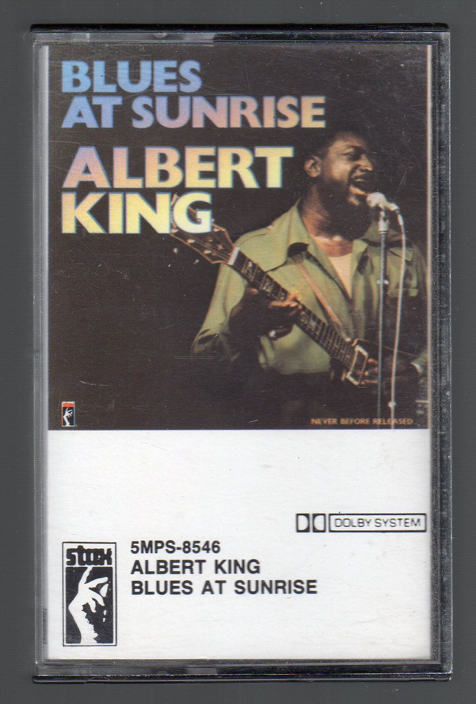 Albert King - Blues At Sunrise Cassette Tape